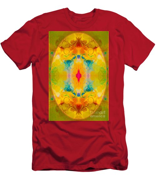 Heavenly Bliss Abstract Healing Artwork By Omaste Witkowski  Men's T-Shirt (Athletic Fit)