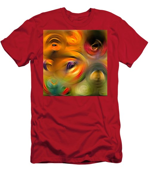Heaven's Eyes - Abstract Art By Sharon Cummings Men's T-Shirt (Athletic Fit)