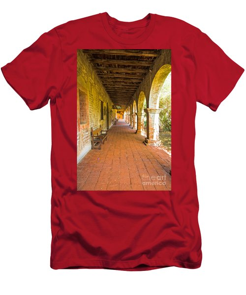 Historical Porch Men's T-Shirt (Athletic Fit)