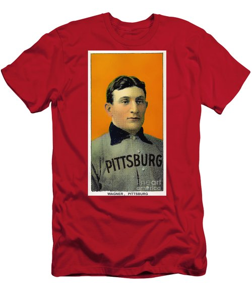 Honus Wagner Baseball Card 0838 Men's T-Shirt (Athletic Fit)