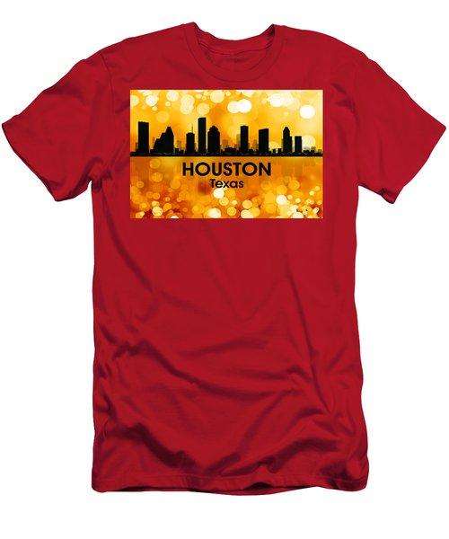 Houston Tx 3 Men's T-Shirt (Athletic Fit)