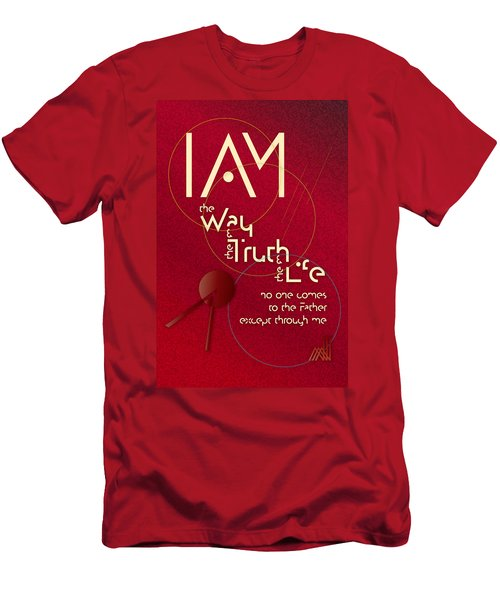 I Am The Way Men's T-Shirt (Athletic Fit)