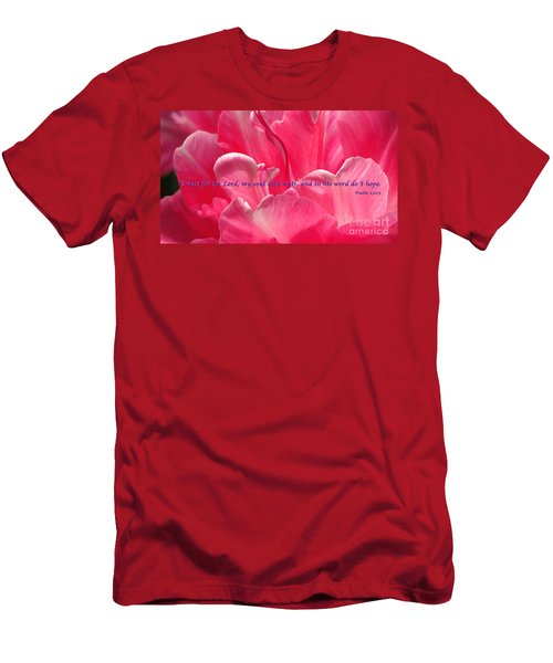 I Wait Men's T-Shirt (Slim Fit) by Terry Wallace