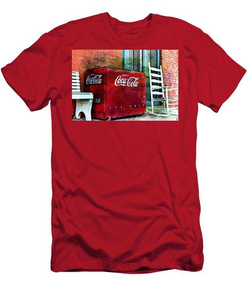 Ice Cold Coca Cola Men's T-Shirt (Athletic Fit)