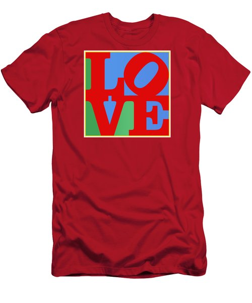 Iconic Love Men's T-Shirt (Athletic Fit)