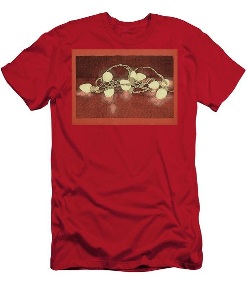 Men's T-Shirt (Slim Fit) featuring the drawing Illumination Variation #2 by Meg Shearer