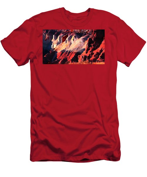 Impression Of Capitol Reef Utah At Sunset Men's T-Shirt (Athletic Fit)