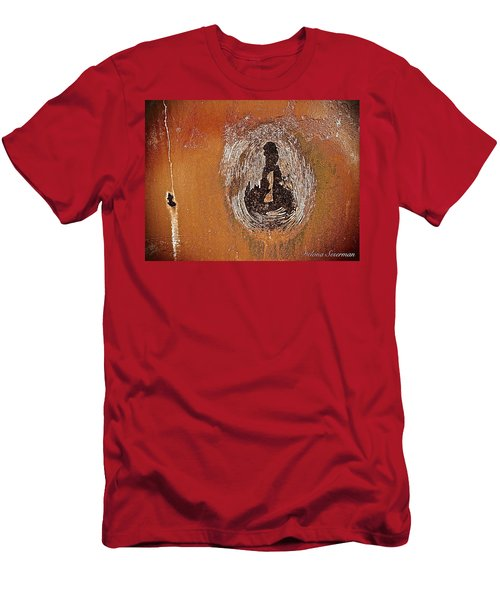 Men's T-Shirt (Slim Fit) featuring the photograph Imprintable by Delona Seserman
