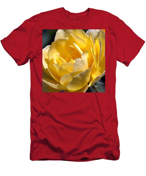 Inside The Yellow Rose Men's T-Shirt (Athletic Fit)