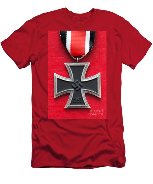 Iron Cross Medal Men's T-Shirt (Athletic Fit)
