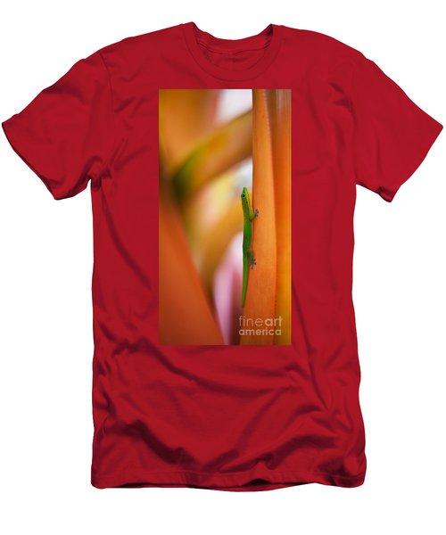 Island Friend Men's T-Shirt (Slim Fit) by Mike Reid