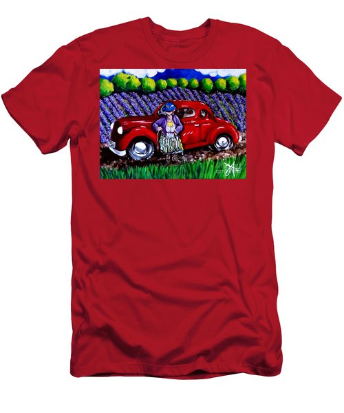 J. C. 1931 Fishing In Red Men's T-Shirt (Athletic Fit)