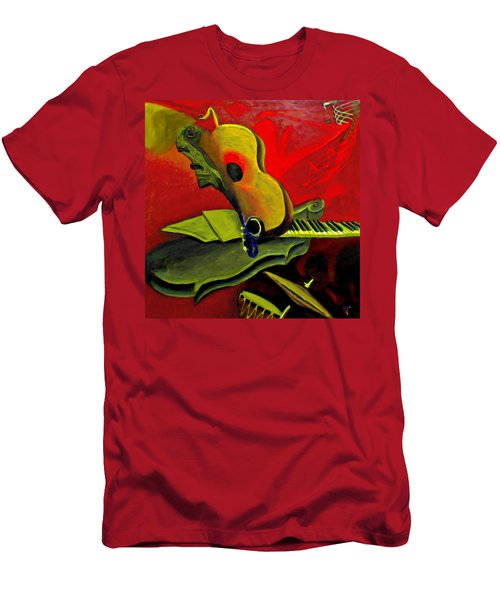 Jazz Infusion Men's T-Shirt (Athletic Fit)