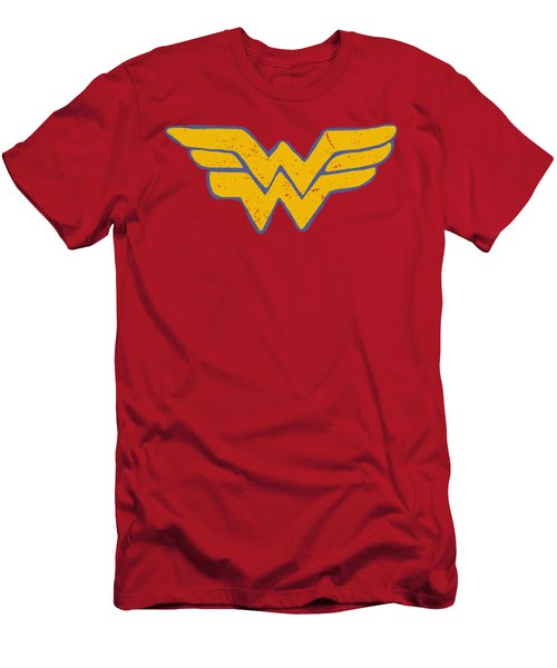 Jla - Rough Wonder Men's T-Shirt (Athletic Fit)