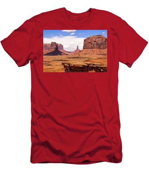 John Ford Point - Monument Valley - Arizona Men's T-Shirt (Athletic Fit)