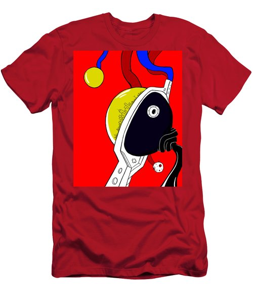 Joker Of Denial Men's T-Shirt (Athletic Fit)