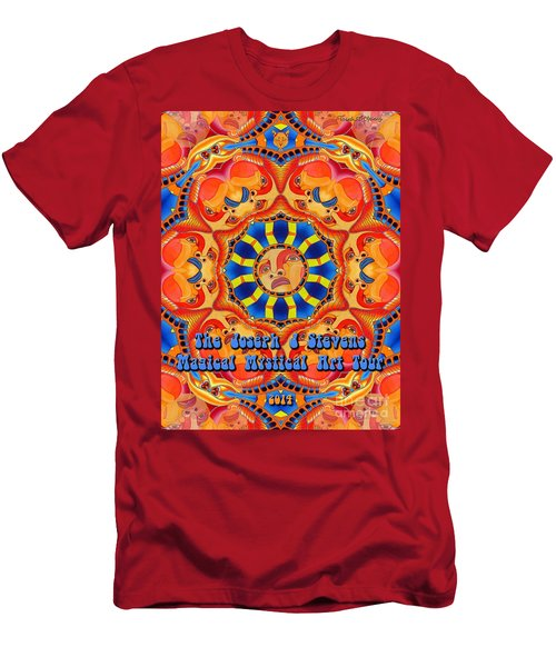 Joseph J Stevens Magical Mystical Art Tour 2014 Men's T-Shirt (Athletic Fit)
