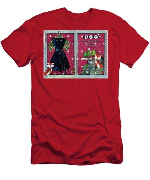 Joy Fox Men's T-Shirt (Athletic Fit)