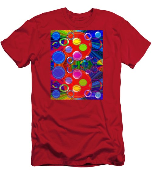 Men's T-Shirt (Slim Fit) featuring the photograph Joyous by Tina M Wenger