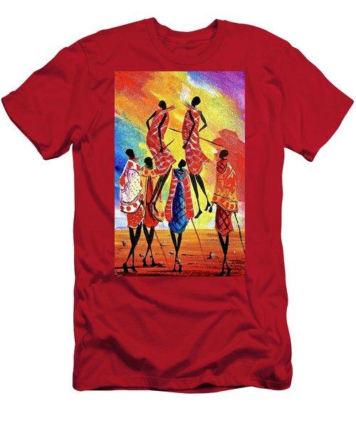 L 129 Men's T-Shirt (Athletic Fit)