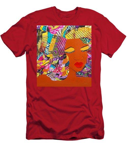 Lady J Men's T-Shirt (Slim Fit) by Apanaki Temitayo M