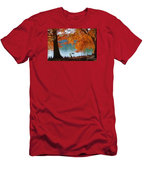 Lake Ella Morning Men's T-Shirt (Athletic Fit)