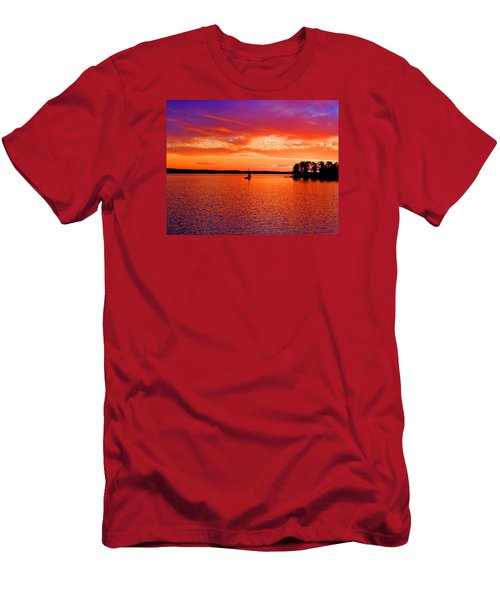 Lake Murray Sunset Men's T-Shirt (Athletic Fit)