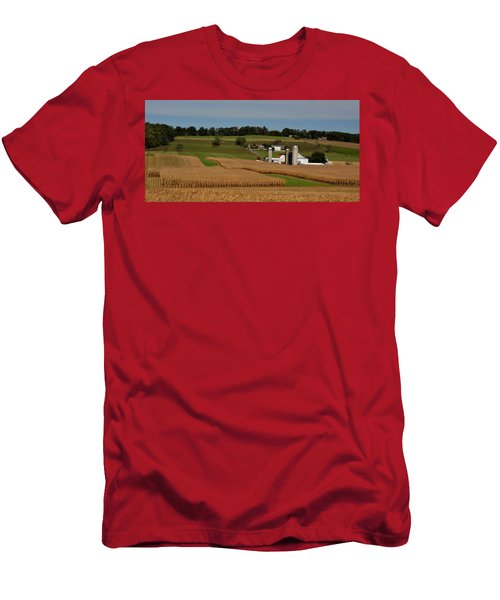 Lancaster County Farm Men's T-Shirt (Athletic Fit)