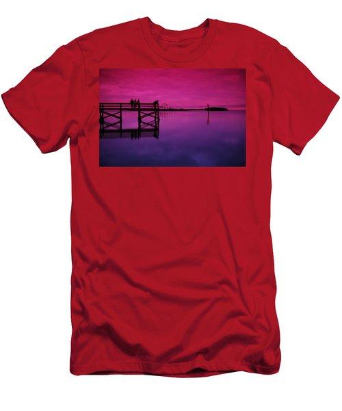Last Sunset Men's T-Shirt (Athletic Fit)