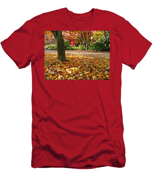 Leaves And More Leaves Men's T-Shirt (Athletic Fit)