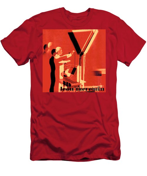 Leon Theremin Men's T-Shirt (Athletic Fit)