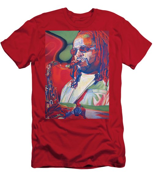 Leroi Moore Colorful Full Band Series Men's T-Shirt (Athletic Fit)