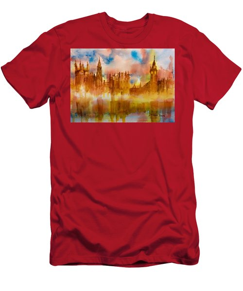 London Rising Men's T-Shirt (Athletic Fit)