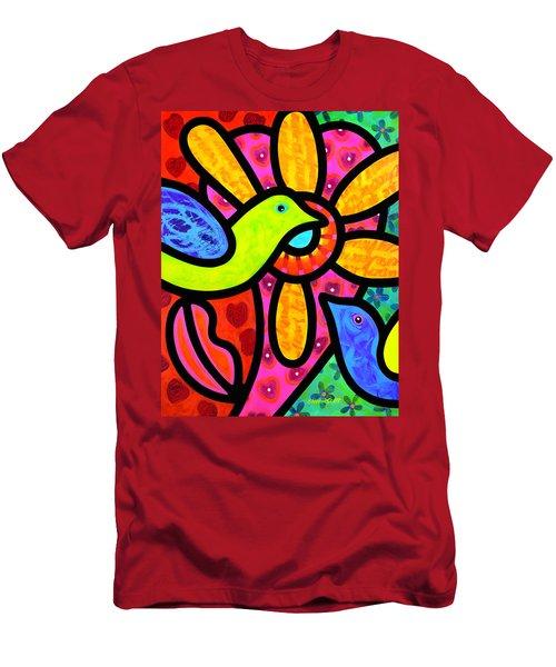 Love Birds Men's T-Shirt (Athletic Fit)