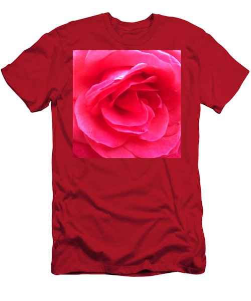Love In Full Bloom - Anniversary Rose Men's T-Shirt (Athletic Fit)