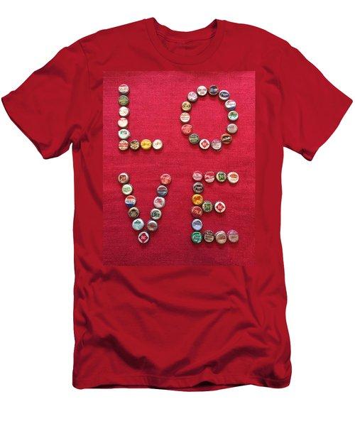 Love Pop Men's T-Shirt (Athletic Fit)