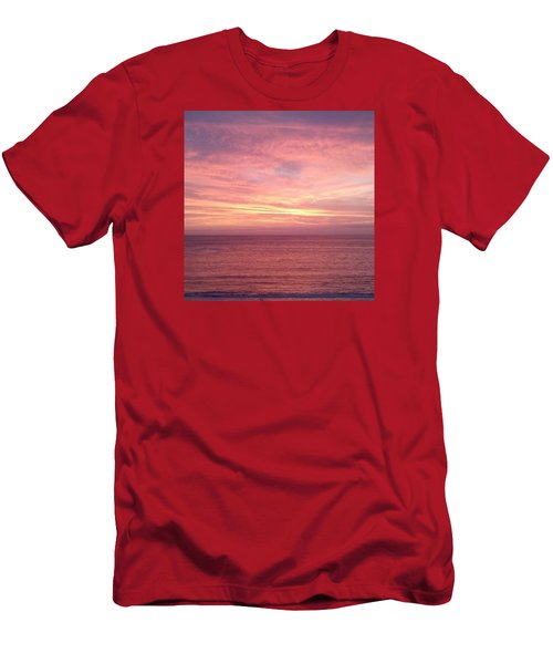 Loving  Sunset Men's T-Shirt (Athletic Fit)