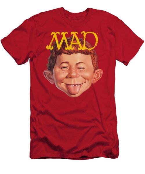 Mad - Absolutely Mad Men's T-Shirt (Athletic Fit)