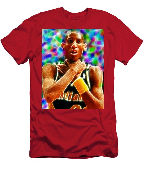 Magical Reggie Miller Choke Men's T-Shirt (Athletic Fit)