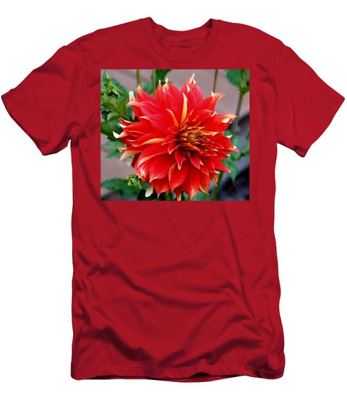 Men's T-Shirt (Slim Fit) featuring the photograph Magnifique by Jeanette C Landstrom