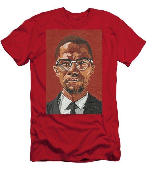 Malcolm X Men's T-Shirt (Athletic Fit)