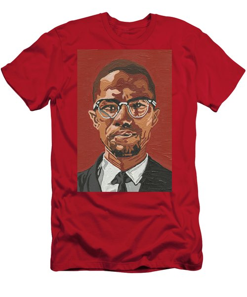 Malcolm X Men's T-Shirt (Athletic Fit)