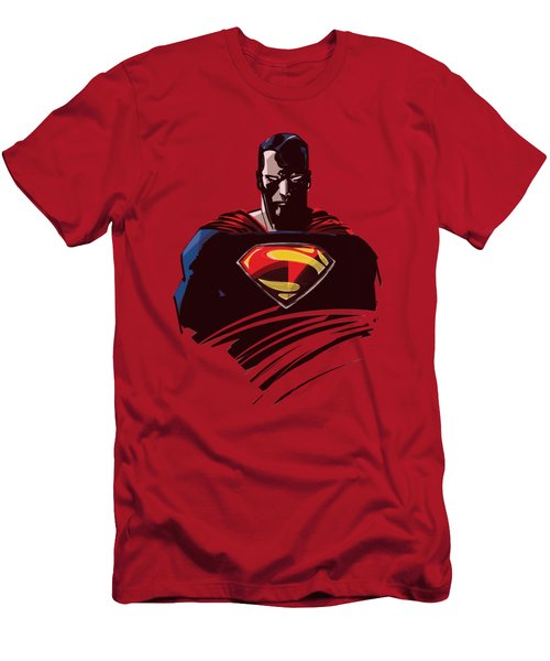 Man Of Steel - Bust Men's T-Shirt (Athletic Fit)