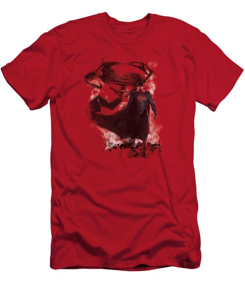 Man Of Steel - Head Walking Men's T-Shirt (Athletic Fit)