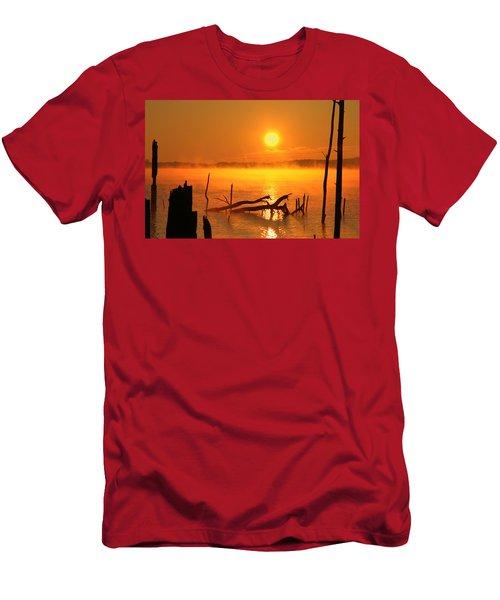 Mantis Sunrise Men's T-Shirt (Athletic Fit)