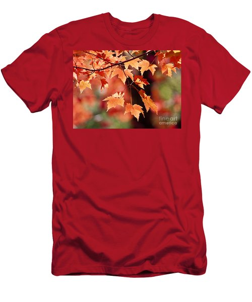 Maple Leaves I Men's T-Shirt (Athletic Fit)