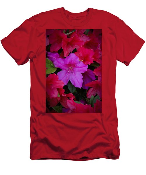 Merging Azaleas 2 Men's T-Shirt (Athletic Fit)