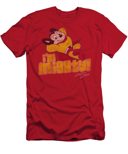 Mighty Mouse - I'm Mighty Men's T-Shirt (Athletic Fit)