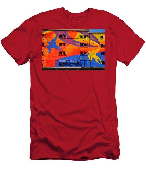 Migrate Detail 2 Men's T-Shirt (Athletic Fit)
