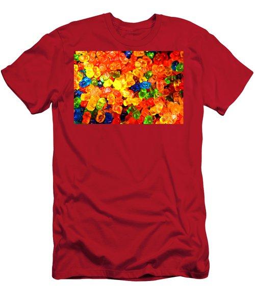 Mini Gummy Bears Men's T-Shirt (Athletic Fit)